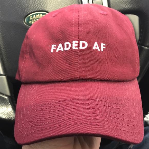 Faded AF dad hat. M 5ac6506d3316277d657b93e1 fe8e085546bd